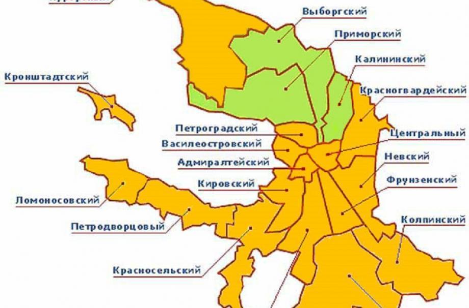 самые популярные в Ленинградской области