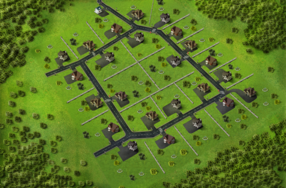 Генеральный план поселка Роквиль