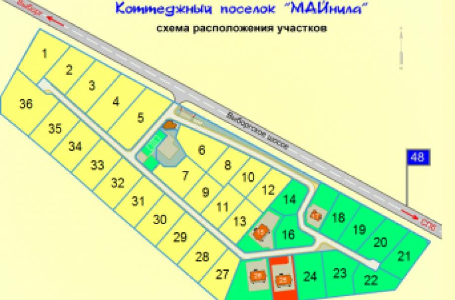 Коттеджный поселок МАЙнила