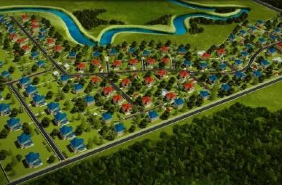 Коттеджный поселок Лазурное