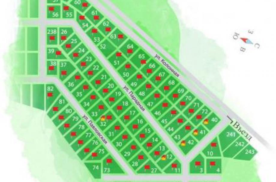 Коттеджный поселок Ландыши