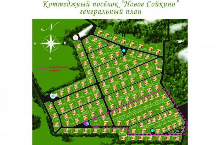 Коттеджный поселок Новое Сойкино