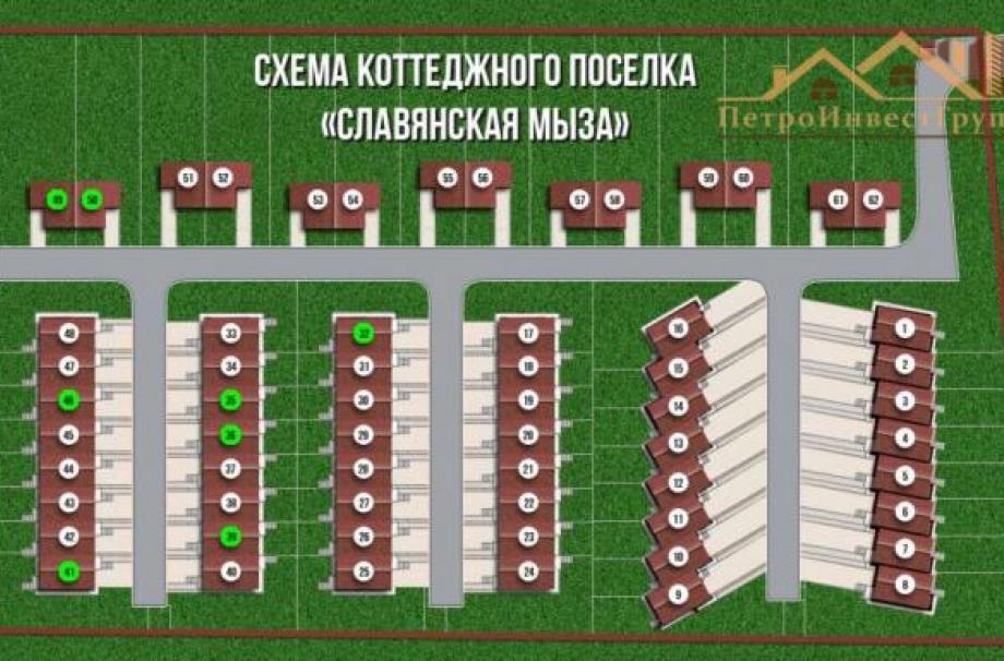 Коттеджный поселок Славянская мыза
