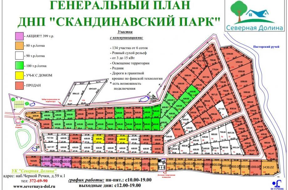 Коттеджный поселок Скандинавский парк