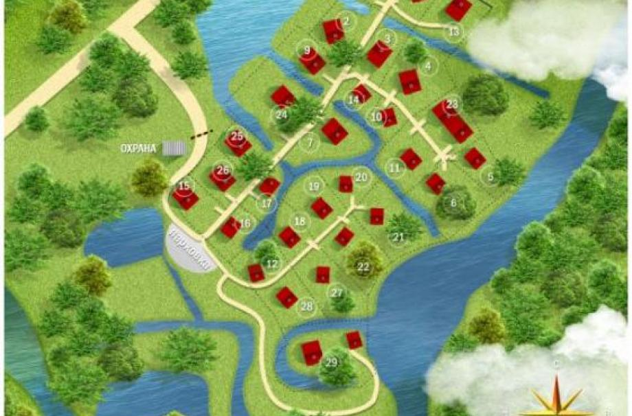 Коттеджный поселок Заозерье