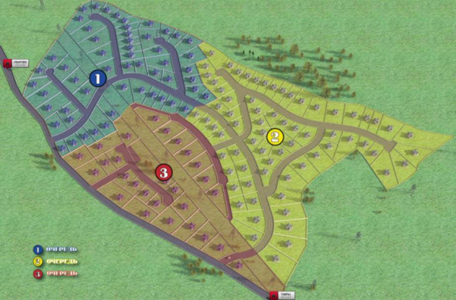 Коттеджный поселок Коркинские Просторы