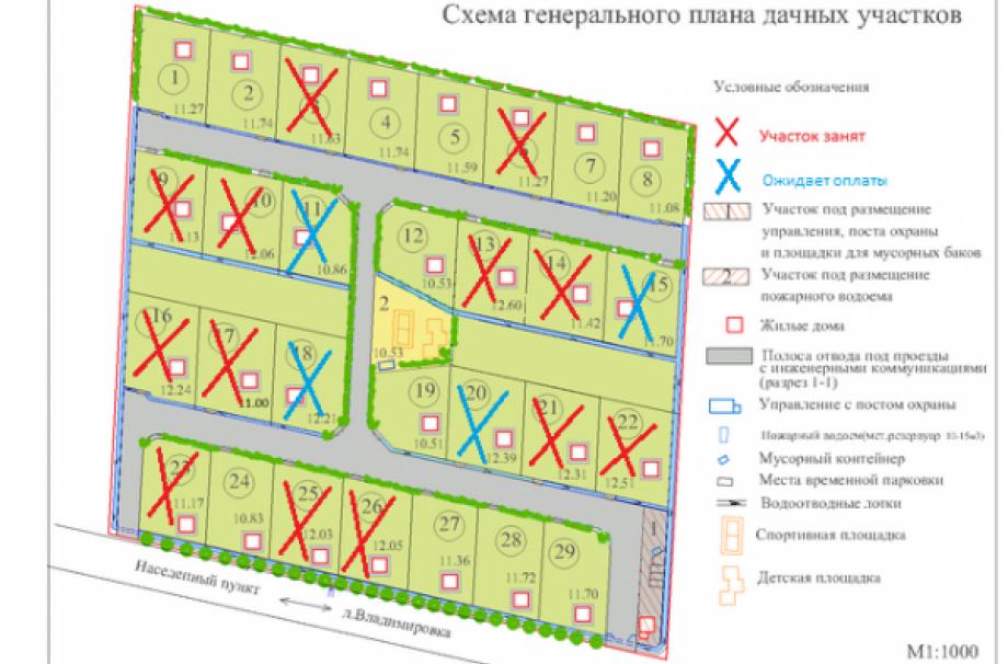 Коттеджный поселок Поселок у д. Владимировка