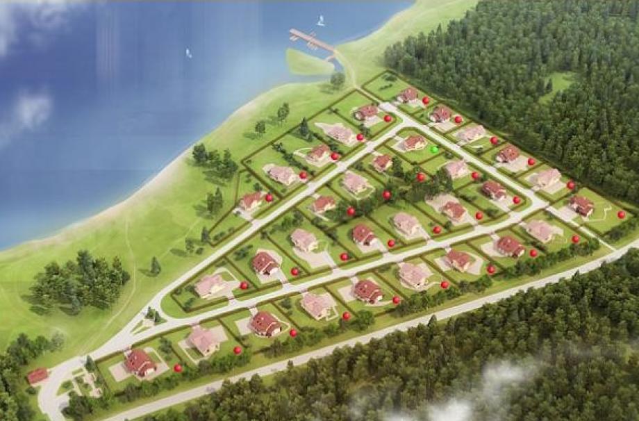 Коттеджный поселок Глубокое озеро