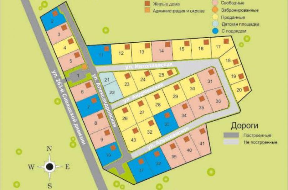 Коттеджный поселок Часовенское