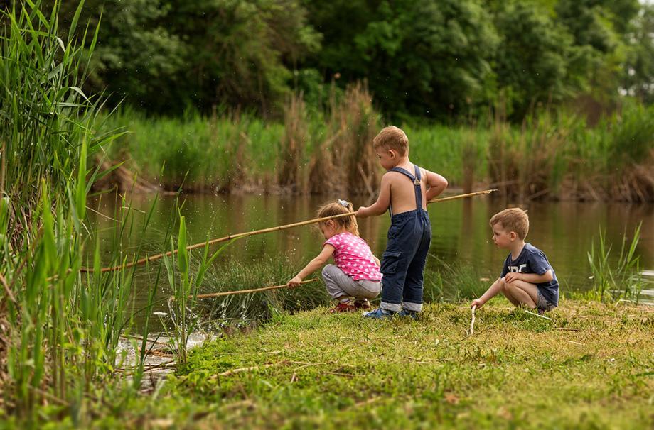 рыбалка не только для Вас, но и детям