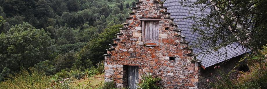 каменный коттедж