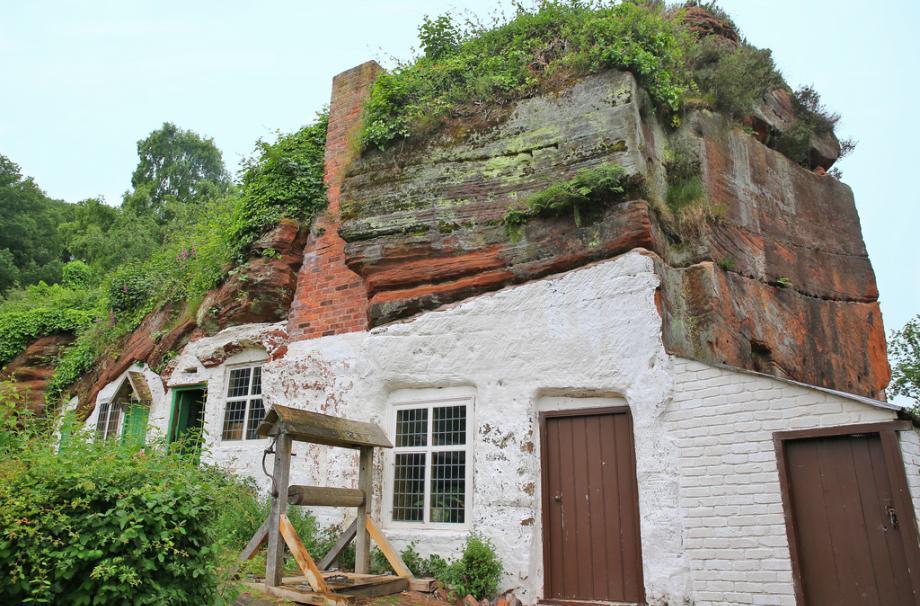 Дом Остин Rock в Kinver Edge, Англии