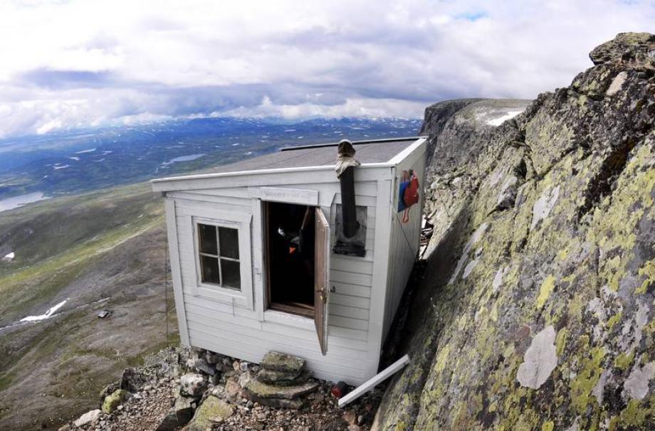домик в горах Hallingskarvet, Норвегия