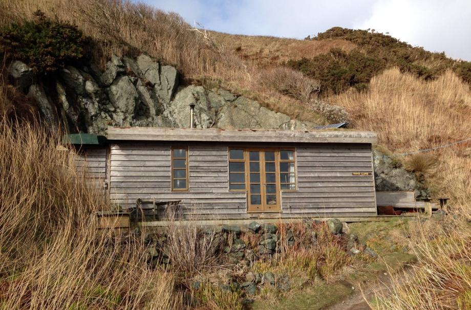 Домик у подножья горы в  Llyn Peninsula, Wales