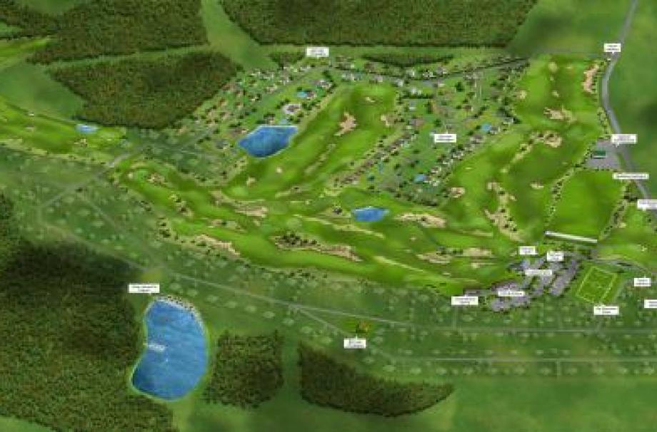 Коттеджный поселок GORKI гольф курорт