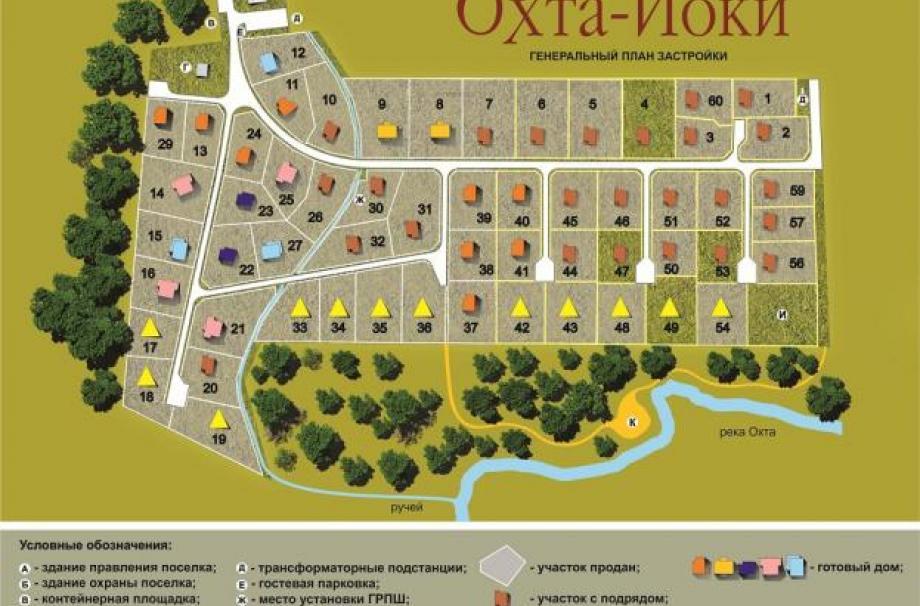 Коттеджный поселок Охта-Йоки