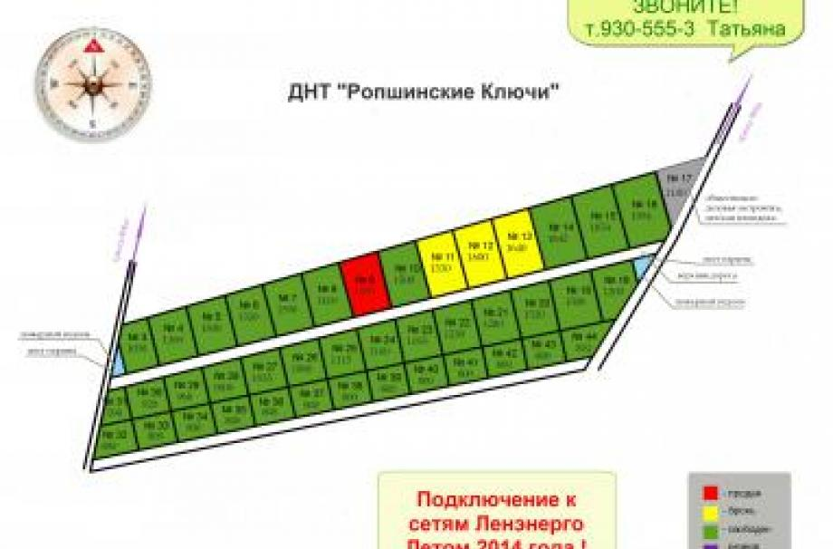 Коттеджный поселок Ропшинские ключи