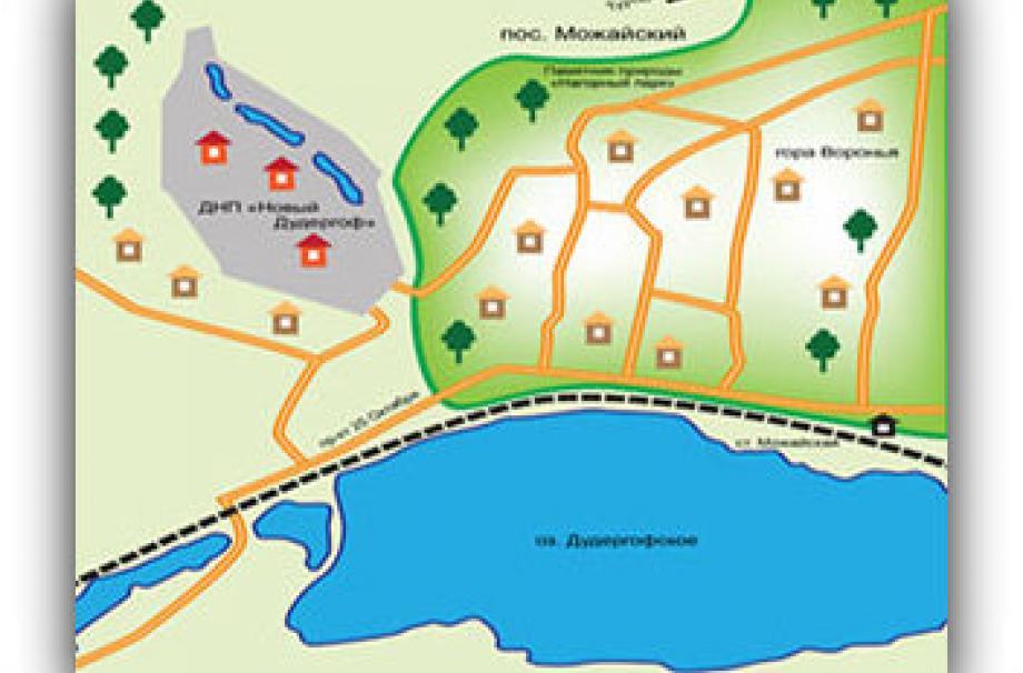 Коттеджный поселок Новый Дудергоф