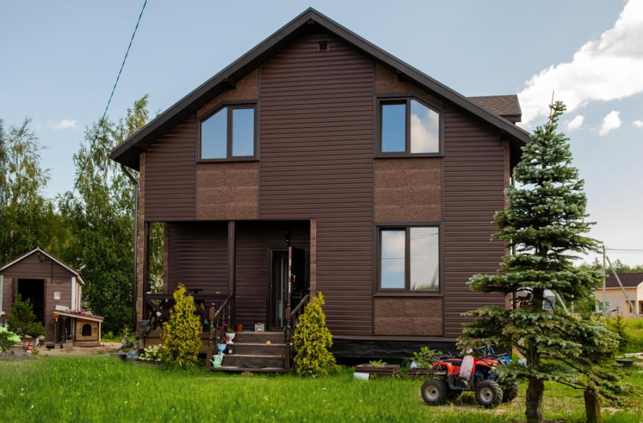 дом загородный дом свой дом сип-панели каркасный дом