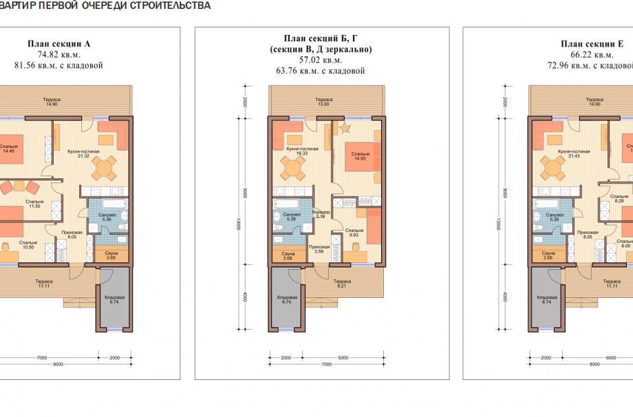Планировки Малоэтажного дома