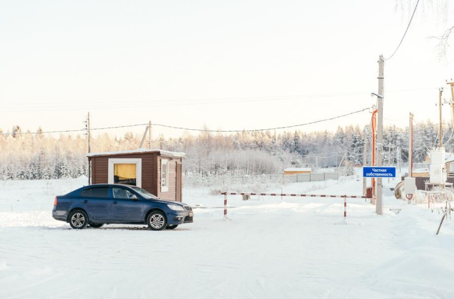 коттеджный поселок зимой поселок у озера